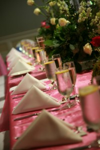 Table de banquet