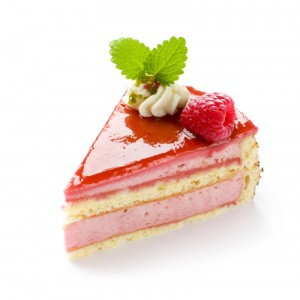 Framboisier, gâteau pâtissier