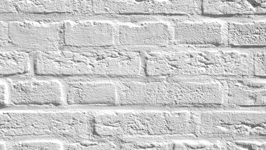 Maison Mur De Brique Blanche