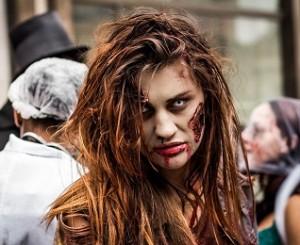 lentille pour faire le zombie